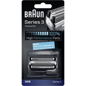 Braun Series3 - 32S Micro comb stříbrné + Doprava zdarma