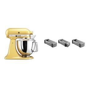 Set KitchenAid - kuchyňský robot 5KSM175PSEMY + KPRA strojek na těstoviny + Doprava zdarma