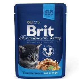 Brit Cat Chicken Chunks for Kitten 100 g