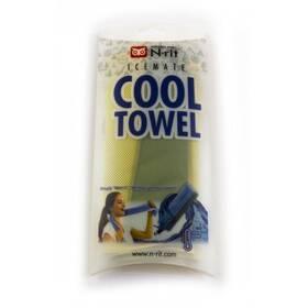 Cool Towel Twin 100 x 20 cm, zelená/žlutá