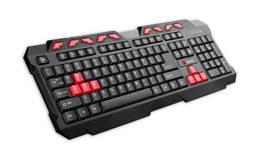 C-Tech GMK-102-R, CZ/SK (GMK-102-R) čierna/červená