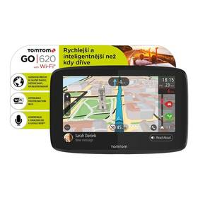 Tomtom GO 620 World, Wi-Fi, LIFETIME mapy (1PN6.002.01) černá + Doprava zdarma