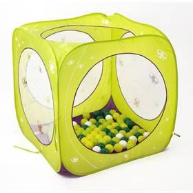 Ludi skládací/hrací - kostka zelený + Doprava zdarma