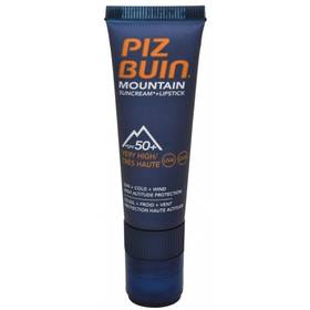"""Sluneční krém SPF 50+ a ochranný balzám na rty SPF 30 2 v 1 (Mountain Combi """"2 in 1"""" Sun Cream SPF 50+ a Lipstick) 20 ml + 2,3 ml"""