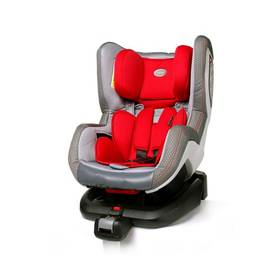 Autosedačka 4Baby NEO-fix 2015, 0-18 kg Red sivá/červená