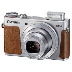 Canon PowerShot G9 X stříbrný Paměťová karta Kingston MicroSDHC 32GB UHS-I U1 (45MB/s) + adaptér (zdarma) + Doprava zdarma