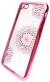 Beeyo Flower Dots pro Apple iPhone 8/7 (BEAAPIP7TPUFLPI) růžový + Doprava zdarma