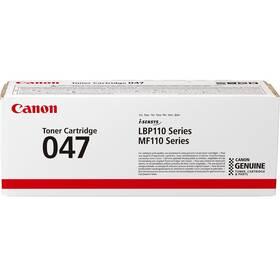 Toner Canon CRG 047, 1600 stran (2164C002) černý