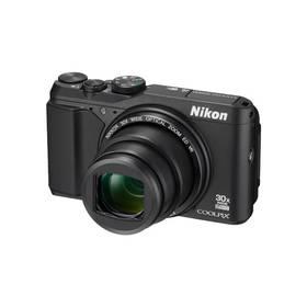 Nikon Coolpix S9900 + 8GB pam. karta černý