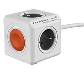 Powercube Extended Remote, 4x zásuvka. 1,5m bílá