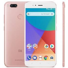 Xiaomi Mi A1 64 GB Dual SIM CZ LTE (PH3620) růžový Software F-Secure SAFE, 3 zařízení / 6 měsíců (zdarma) + Doprava zdarma