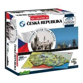 New Bright WIKI 4D puzzle Česká Republika (100798) (Náhradní obal / Silně deformovaný obal 2100007399)