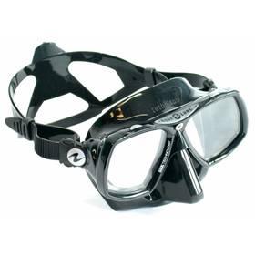 Technisub Look 2 silikon černá stříbrná + Doprava zdarma