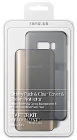 Samsung Clear Cover + Baterry Pack pro Galaxy S8+ (EB-WG95EBBEGWW) průhledný + Doprava zdarma