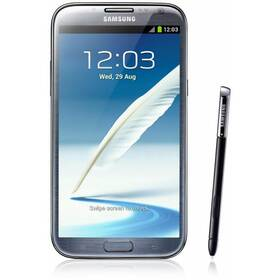 Mobilný telefón Samsung Galaxy Note II (N7100) - Titan gray (GT-N7100TADETL)