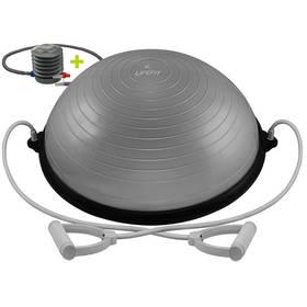 LIFEFIT BALANCE BALL 58cm + pumpa stříbrná