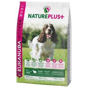 Eukanuba Nature Plus+ Adult Medium frozen Lamb 2,3 kg