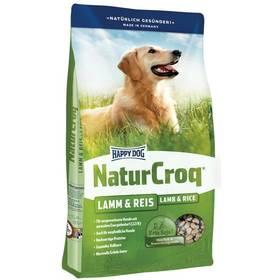 HAPPY DOG NATUR-Croq Lamm&Rice 15 kg Konzerva HAPPY DOG Rind Pur 400 g (zdarma)