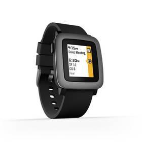 Pebble Time Smartwatch (501-00020) černá Dooble KIDS ADC Blacfire (zdarma) + Doprava zdarma