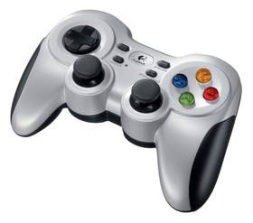 Gamepad Logitech F710 Wireless pro PC (940-000145) stříbrný