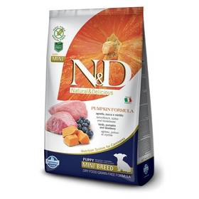 N&D Grain Free Pumpkin DOG Puppy Mini Lamb & Blueberry 7kg + Doprava zdarma