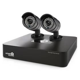 iGET HOMEGUARD HGDVK46702 - 4-kanálový HD rekordér DVR + 2x barevná venkovní HD kamera 720p (HGDVK46702) + Doprava zdarma