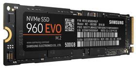 Samsung EVO 960 500GB M.2 (MZ-V6E500BW) černý + Doprava zdarma