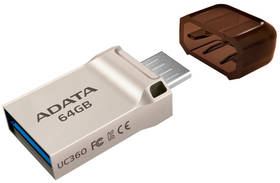 ADATA UC360 64GB (AUC360-64G-RGD) zlatý