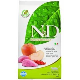 N&D Grain Free CAT Adult Boar & Apple 10 kg + Doprava zdarma