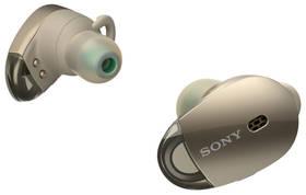 Sony WF-1000X (WF1000XN.CE7) zlatá + Doprava zdarma