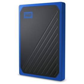 Western Digital My Passport Go 1TB (WDBMCG0010BBT-WESN) modrý