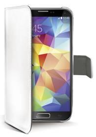 Celly WALLY pro Galaxy S5 (WALLY390W) bílé