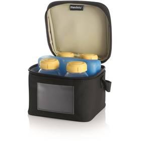 Sada lahví na uskladnění mateřského mléka Medela 150 ml, 4ks + chladící taška