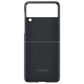 Kryt na mobil Samsung Aramid Cover Galaxy Z Flip3 (EF-XF711SBEGWW) čierny