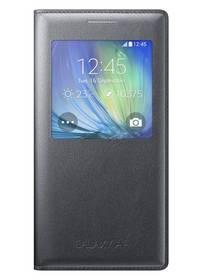 Púzdro na mobil flipové Samsung S-View pro Galaxy A5 (EF-CA500BCEGWW) čierne