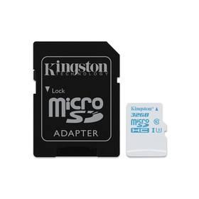 Kingston MicroSDHC 32GB UHS-I U3 (90R/45W) + adapter (SDCAC/32GB)
