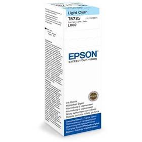 Epson T6735, 70ml - originální - světlě modrá (C13T67354A)