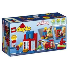 LEGO® DUPLO 10608 Super Heroes Spidermanovo dobrodružství s pavoučím náklaďákem