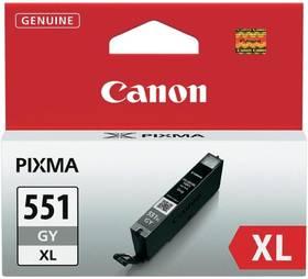 Canon CLI-551XL GY, 3350 stran - originální (6447B001) šedá