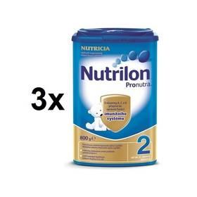 Nutrilon 2 Pronutra, 800g x 3ks + DÁREK