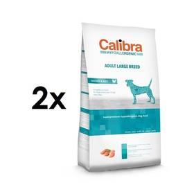Calibra Dog Hypoallergenic Adult Large Breed Chicken 2 x 14 kg + Doprava zdarma