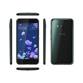 HTC U11 - Brilliant Black (99HAMP032-00) SIM s kreditem T-Mobile 200Kč Twist Online Internet (zdarma) + Doprava zdarma