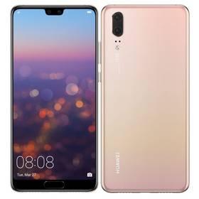 Huawei P20 Dual SIM (SP-P20DSPOM) růžový Software F-Secure SAFE, 3 zařízení / 6 měsíců (zdarma) + Doprava zdarma