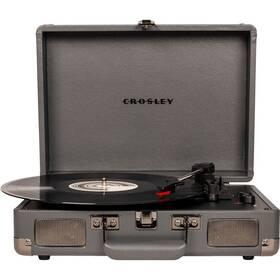 Crosley Cruiser Deluxe šedý
