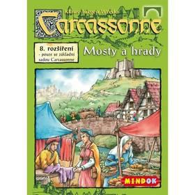 Mindok Carcassonne - rozšíření 8 (Mosty a hrady)