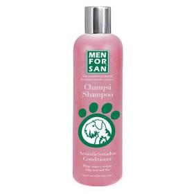 Menforsan ošetrujúci kondicionér a šampón (2v1) proti zamotavaniu srsti   300 ml
