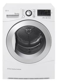 Sušička prádla LG RC9155AP2F biela/chróm