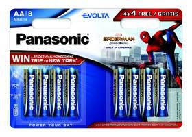 Panasonic Evolta AA, Spider-Man Edition, 4 + 4 zdarma (LR6EGE/8BW 4+4F Spider-Man)