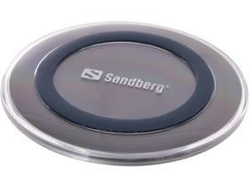 Sandberg Wireless Charger Pad, s funkcí rychlonabíjení (441-05) šedá