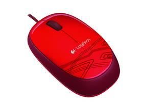 Logitech M105 (910-002942) červená